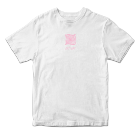 Easy Life: See You Later Maybe Never White Tee