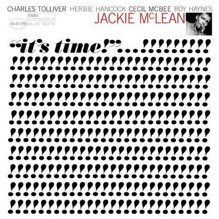 Jackie Mclean: It's Time (Blue Note Tone Poet Series) (LP)