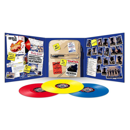 Douglas Adams: Dirk Gently: The Long Dark Tea-Time of the Soul: Limited Edition 140g Red, Blue and Yellow Vinyl