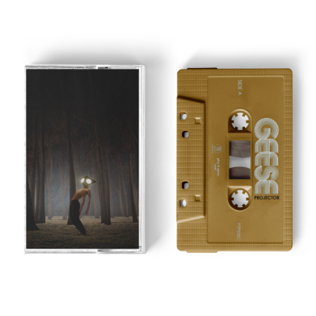 Geese: Projector: Signed Exclusive Gold Cassette