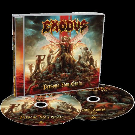 Exodus: Persona Non Grata: CD / Blu-ray