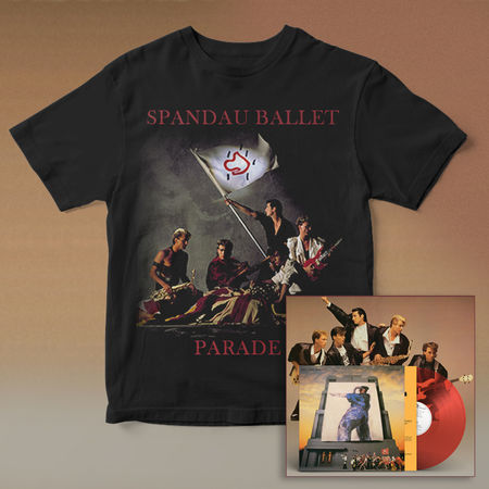 Spandau Ballet: Parade Anniversary Vinyl And T-Shirt Bundle