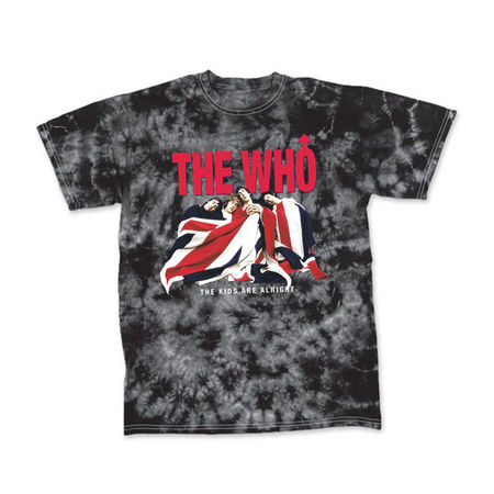 The Who: THE KIDS ARE ALRIGHT TIE DYE TEE