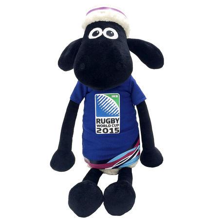 Shaun the Sheep: RWC2015 Large Shaun The Sheep Plush Blue