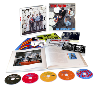 The Who: My Generation: Super Deluxe (5CD)
