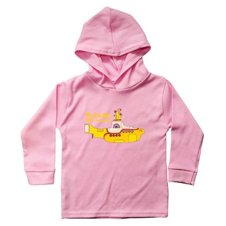 The Beatles: Yellow Submarine Hooded Long sleeve Baby Pink