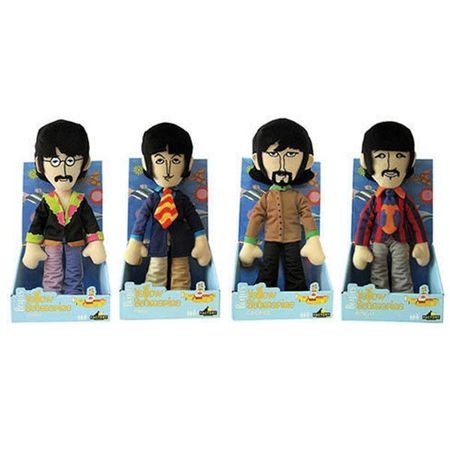 The Beatles: Beatles Plush Assortment: Set of 4 Beatles