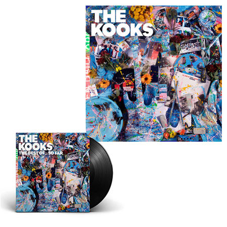 The Kooks: The Best Of… So Far Signed Vinyl & Limited Edition Print