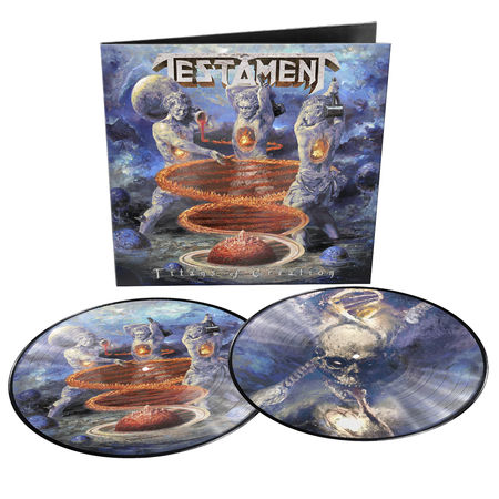 Testament: Titans Of Creation: Limited Edition Gatefold Picture Disc Vinyl