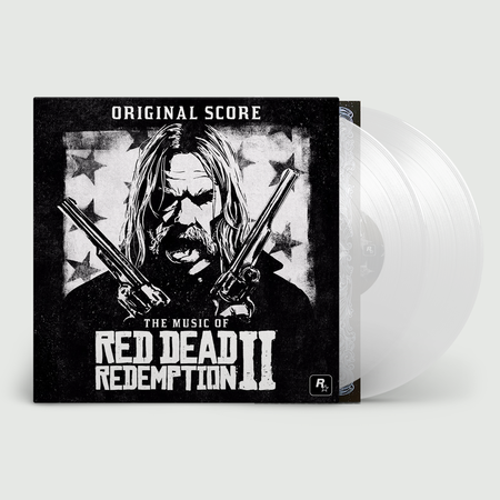 Various Artists: The Music Of Red Dead Redemption 2 (Original Score): Limited Edition Double Clear Vinyl