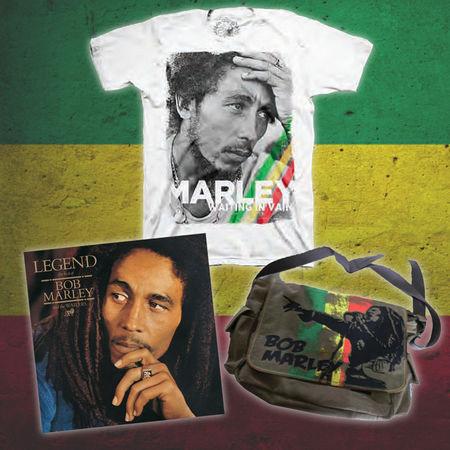 Bob Marley: Exclusive Bob Marley Bundle #3