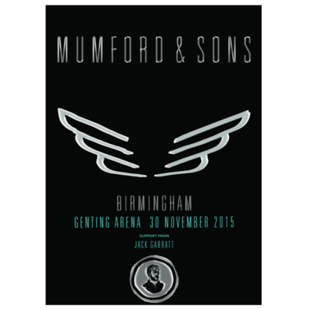 Mumford & Sons : UK Tour Print