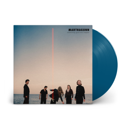 MarthaGunn: Something Good Will Happen: Signed Solid Blue Vinyl LP