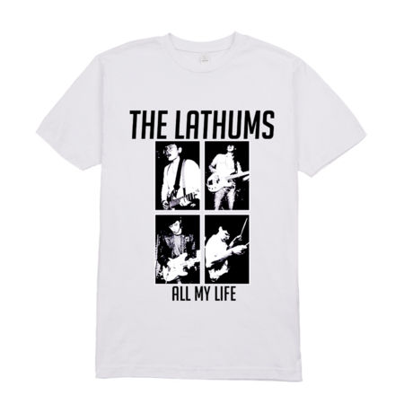 The Lathums: LIMITED EDITION All My Life White Tee