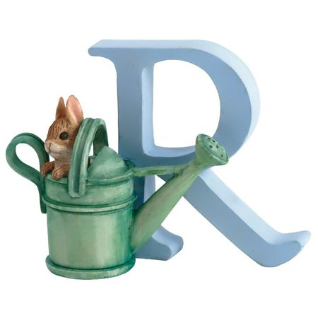 Peter Rabbit: Alphabet Letter R - Peter Rabbit in Watering Can