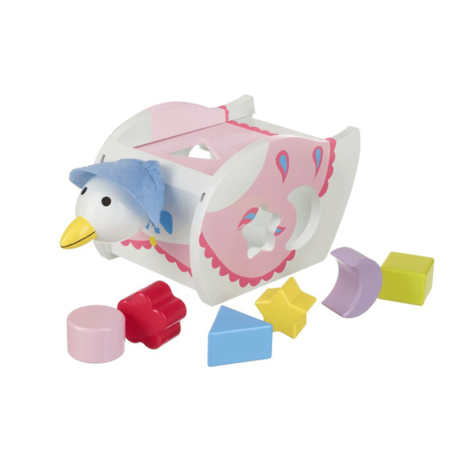 Peter Rabbit: Jemima Puddle-Duck Shape Sorter