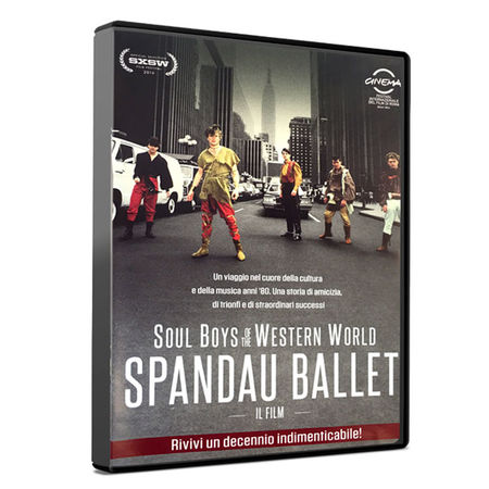 Spandau Ballet: SPANDAU BALLET THE FILM: SOUL BOYS OF THE WESTERN WORLD(ITALIAN EDITION DVD)