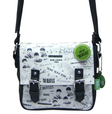 The Beatles: The Beatles Graffiti Mini Bag