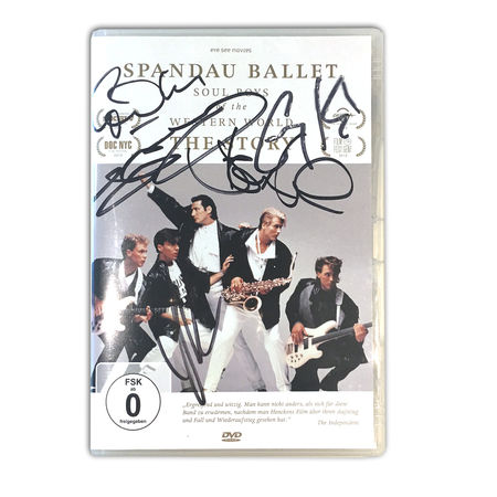 Spandau Ballet: SPANDAU BALLET THE FILM: SOUL BOYS OF THE WESTERN WORLD (SIGNED GERMAN EDITION DVD)
