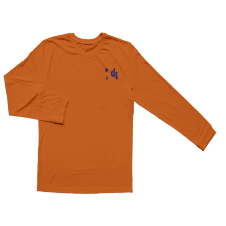 Dermot Kennedy: Longsleeve Lyric Tee: Orange