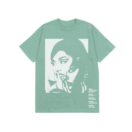 Ariana Grande: DOUBLE VISION COVER T-SHIRT