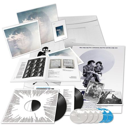 John Lennon: Imagine The Ultimate Collection Complete Fan Bundle (DVD & Black Vinyl)