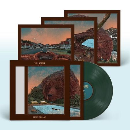 Villagers: Fever Dreams: Signed Limited Edition Green Vinyl LP in Die-Cut Sleeve