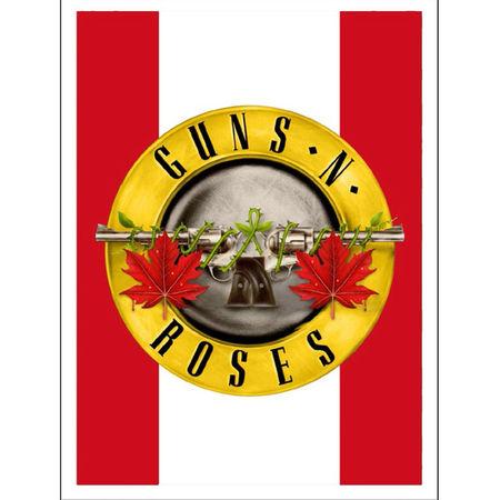 Guns N' Roses: Maple Leaf Seal Lithograph
