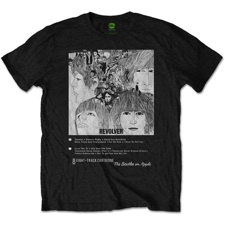 The Beatles: Revolver 8 Track T-Shirt Small