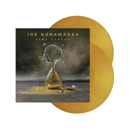 Joe Bonamassa: Time Clocks: Limited Edition Gold Vinyl