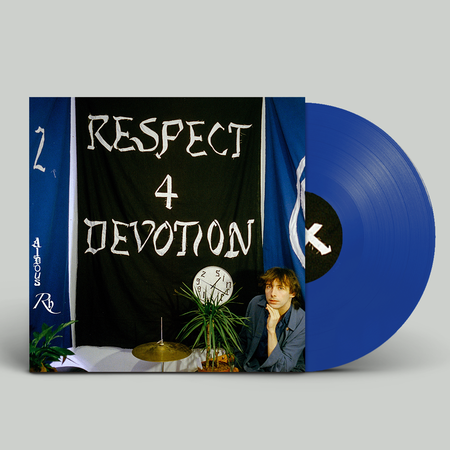 Aldous RH: Respect 4 Devotion: Signed Azure Blue Vinyl