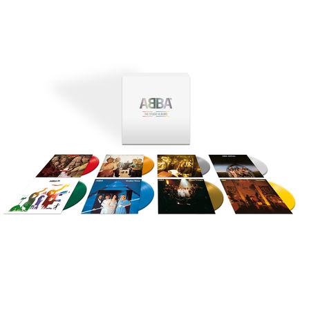 Abba: The Studio Albums: Limited Edition Coloured Vinyl Box Set