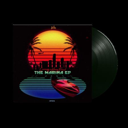 Curren$y & Harry Fraud       : The Marina: Black Vinyl LP