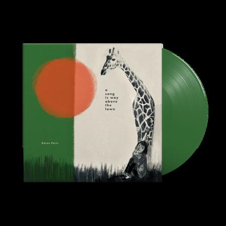 Karen Peris: A Song Is Way Above The Lawn: Green Vinyl LP