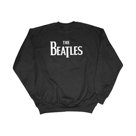 The Beatles: Drop T Logo Sweatshirt Black