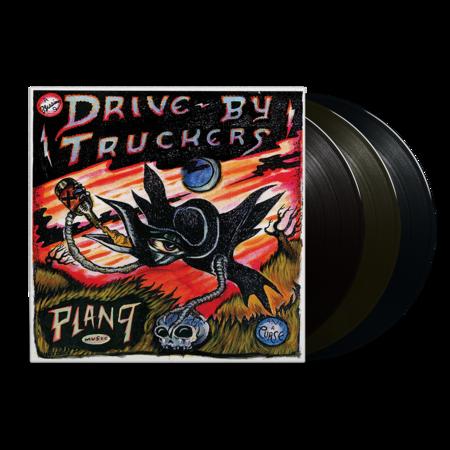 Drive-By Truckers: Plan 9 Records July 13, 2006: Black Vinyl 3LP