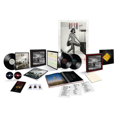 Rush: Permanent Waves: 40th Anniversary Super Deluxe Box Set