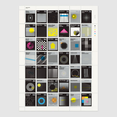 Dorothy: Stamp Albums: Electronic Litho Print Poster