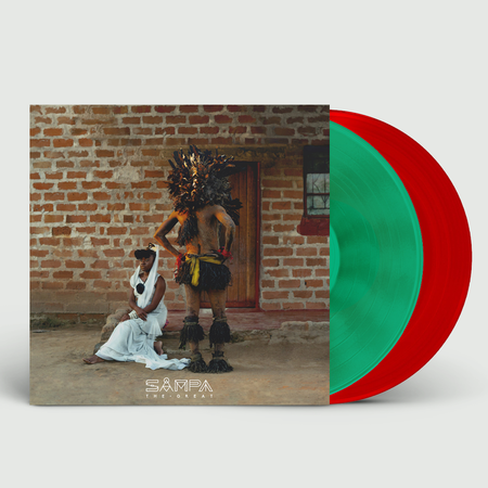 Sampa The Great: The Return: Signed Limited Edition Translucent Red and Green Vinyl