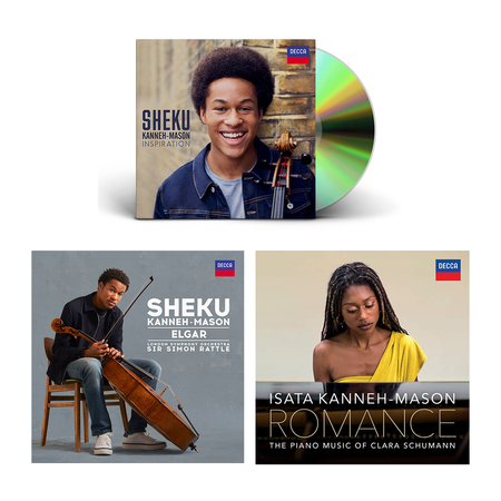 Sheku Kanneh-Mason: Meet the Kanneh-Masons 3 CD Bundle