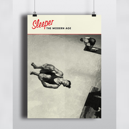 Sleeper: The Modern Age: Exclusive Signed Art Poster