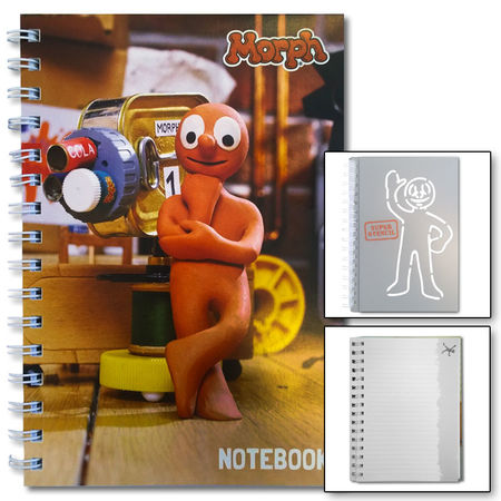 Morph: Morph Notebook With Super Stencil