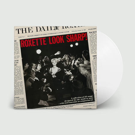 Roxette: Look Sharp: Limited Edition Clear Vinyl