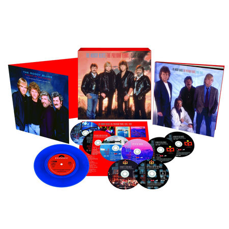 The Moody Blues: The Polydor Years 1986-1992 (6CD/2DVD+7
