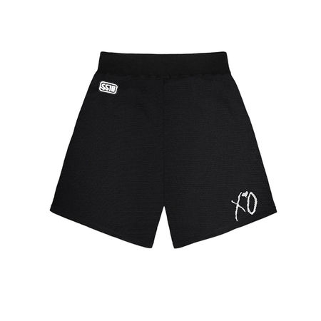 The Weeknd: XO CLASSIC LOGO MESH SPORT SHORTS