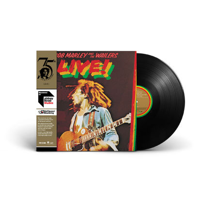 Bob Marley and The Wailers: Live! (Half-Speed Mastered LP)