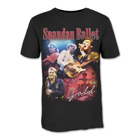 Spandau Ballet: Gold Hommage T-Shirt