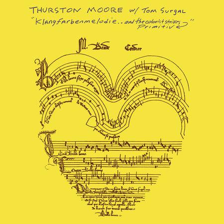 Thurston Moore: Klangfarbenmelodie.. And The Colorist Strikes Primitiv: White Vinyl