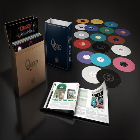 Queen: Queen Studio Collection (15 Studio Albums on 18LP)