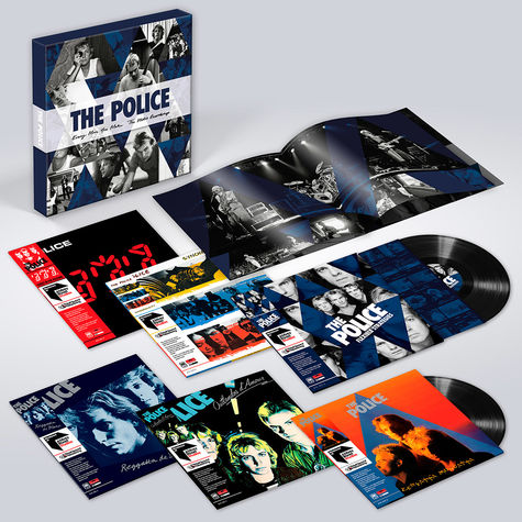 The Police: Every Move You Make: The Studio Recordings (6LP Vinyl Box)